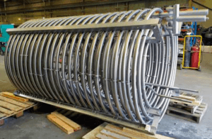 Mandrel bending pipe radius