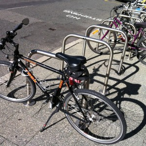 Red Roo Bike Rack