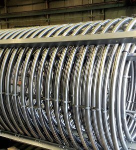 coiled steel